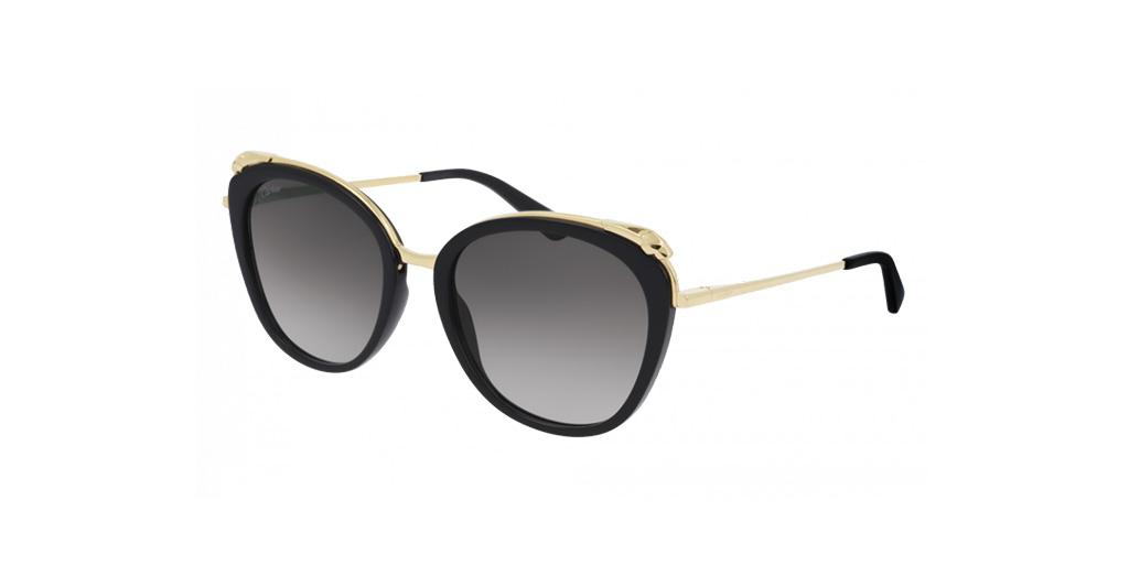 Cartier CT0150S 001 55-19 Kadın Güneş Gözlüğü