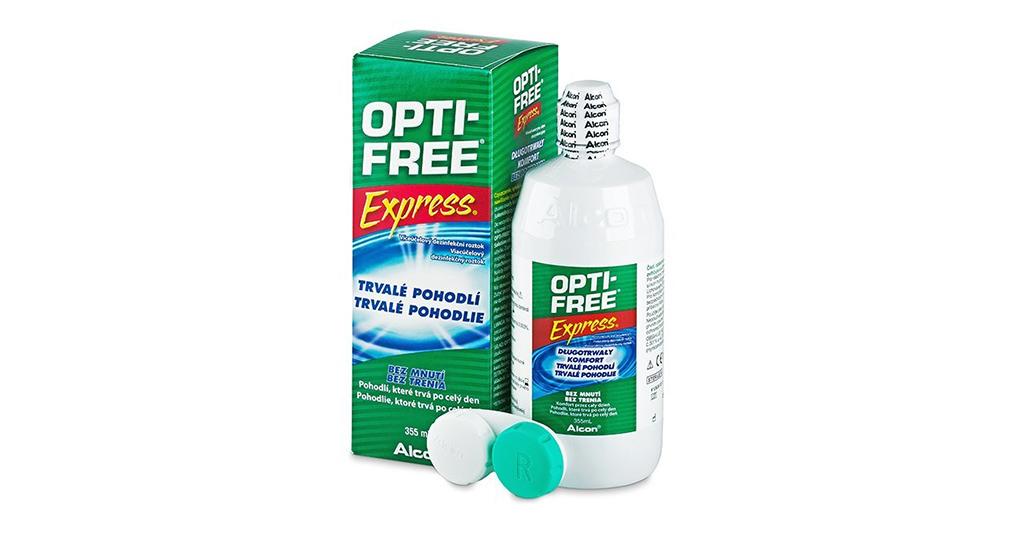 OPTI-FREE EXPRESS 355 ML LENS SOLÜSYONU