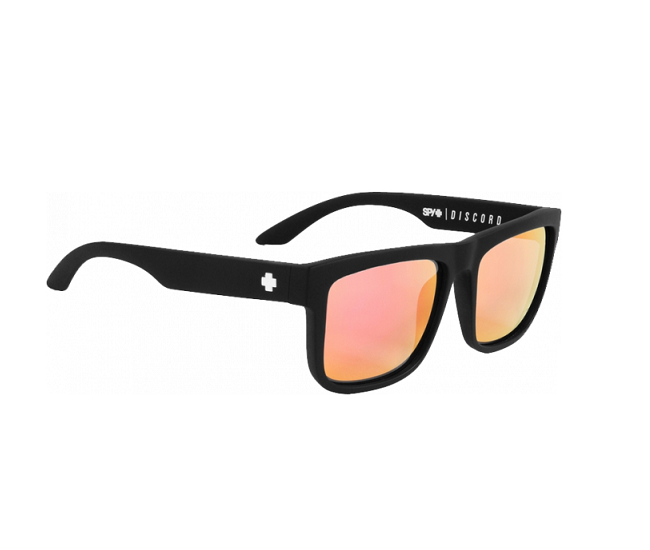 SPY DISCORD MAT BLACK-PINK Unisex Güneş Gözlüğü