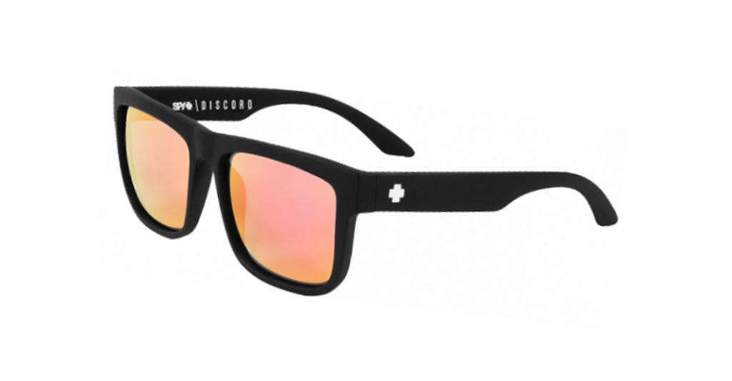 Spy Discord Mat Black - Pink Unisex Güneş Gözlüğü