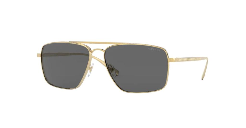 Versace 2216 100287 61-15 Erkek Güneş Gözlüğü