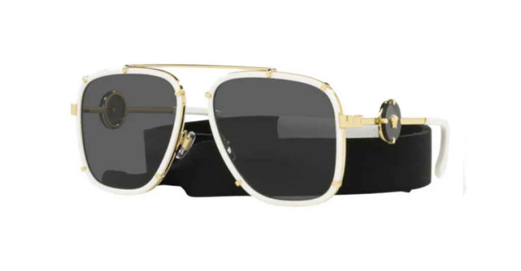 Versace 2233 147187 60-16 Sunglasses