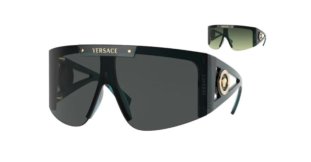 Versace 4393 533587 46 Sunglasses